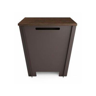 Garden Stool Color: Dark Brown