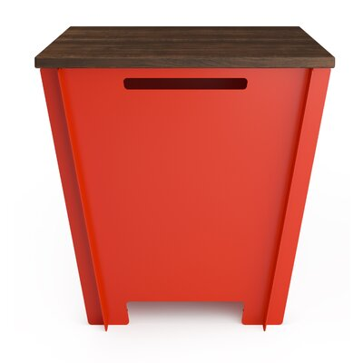 Garden Stool Color: Tangerine Orange