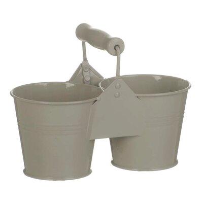 Old Basket Supply Ltd Round Double Pot