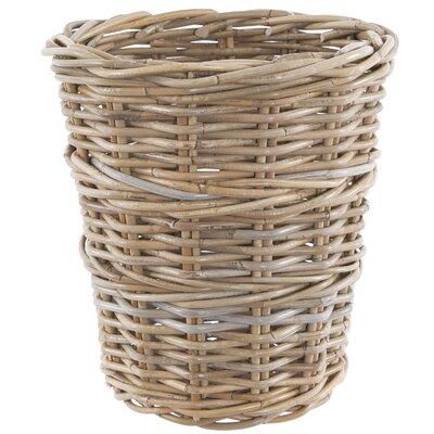 Old Basket Supply Ltd Round Rattan Wastepaper Basket