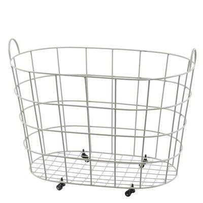 Old Basket Supply Ltd Oval Basket with Wheels