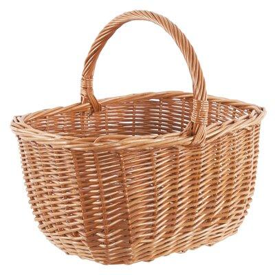 Old Basket Supply Ltd Oval Hollander Willow Buff Basket