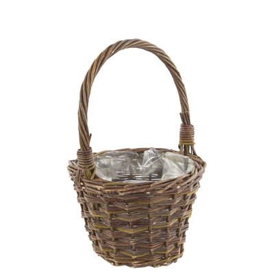 Old Basket Supply Ltd Willow Planter and Handle