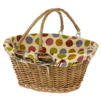 Old Basket Supply Ltd Suffolk Spot and Stripes Shopper Basket