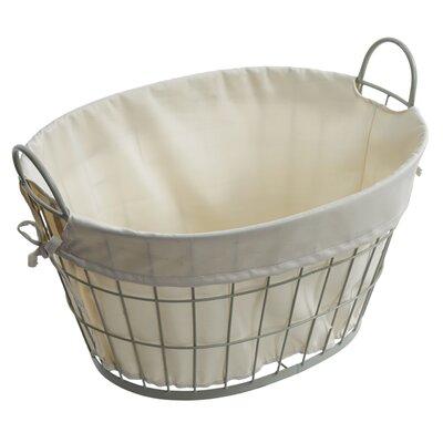 Old Basket Supply Ltd Lined Oval Basket