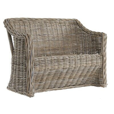 Old Basket Supply Ltd Rattan Weave 2 Seater Love Seat
