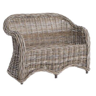 Old Basket Supply Ltd Childs Rattan Weave 2 Seater Loveseat