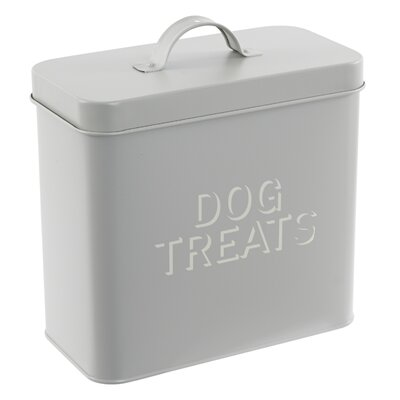 Old Basket Supply Ltd French Dog Treats Tin Canister