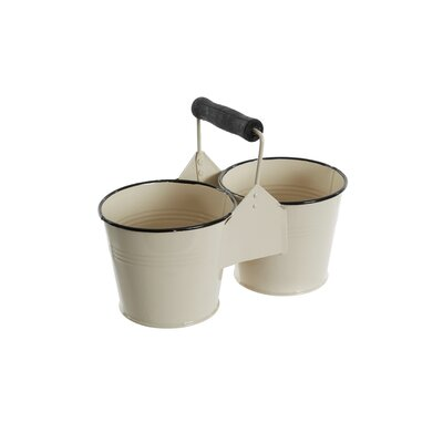 Old Basket Supply Ltd Metal Double Pots Bucket