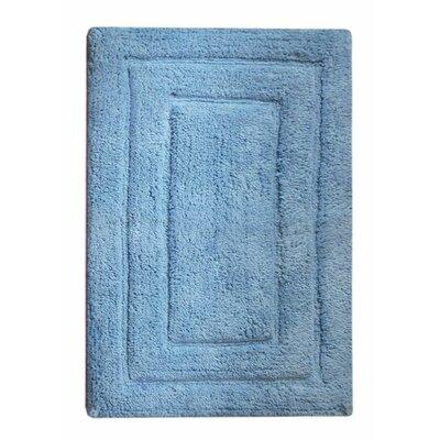 Classic Bath Rug Color: Blue