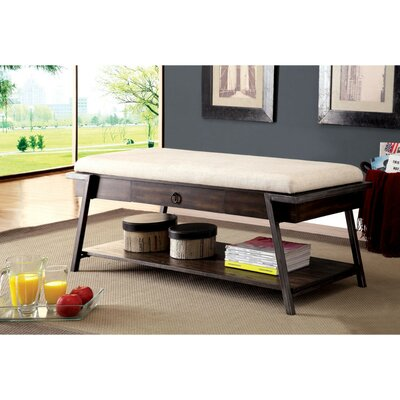 Mooers Upholstered Storage Bench
