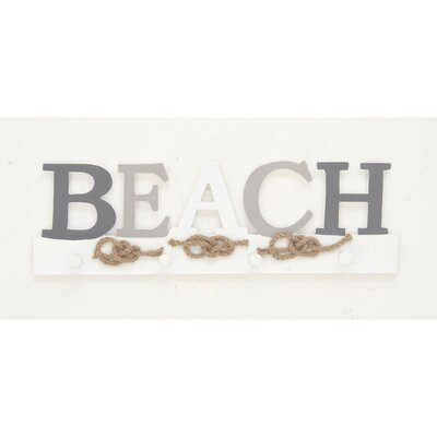 Beach Sign Wall Hook