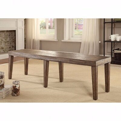Zoey Wood Dining Bench