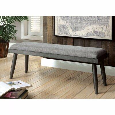 Charli Mid-Century Modern Bench