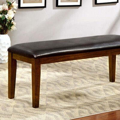 Carlinville Wood Bench