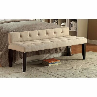 Cantor Bedroom Bench Size: Small