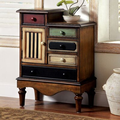 Pinheiro Vintage 5 Drawers Accent Chest
