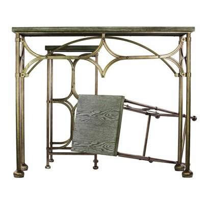 Westgate Extraordinary Metal 3 Piece Console Table Set with Wooden Top