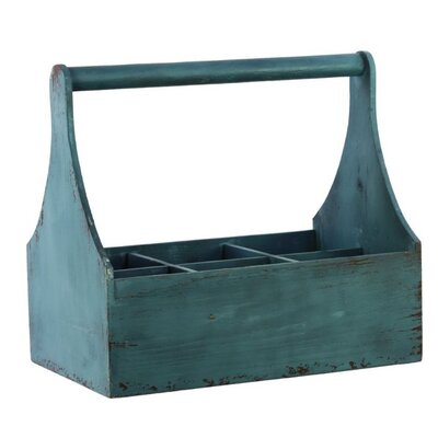 Wood Crate Color: Cadet Blue