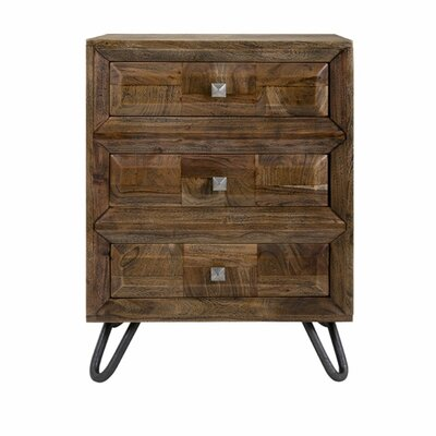 Dionne 3-Drawer Accent Chest