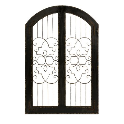 Amelia Fir Wood and Iron Safety Gate