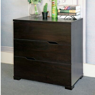Cipriano Beautiful 3 Drawer Accent Chest