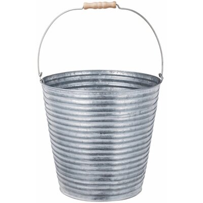 Champney Contemporary Metal Pot Planter