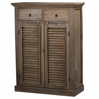 Christley 2 Drawer Accent Cabinet