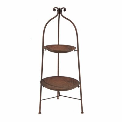 Chaput Aesthetically 2-Tiered Plant Stand