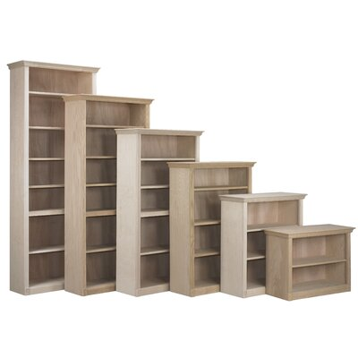 "Federal Crown Standard Bookcase Color: Caf, Size: 36"" H x 36"" W x 12"" D"