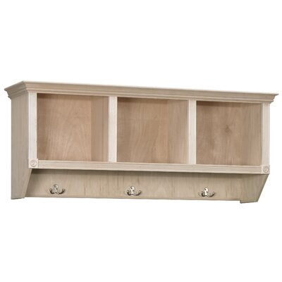 Cubby Coat Rack Color: Roman Maple