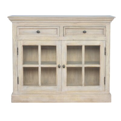 Alfreton Solid Wood 2 Door Accent Cabinet