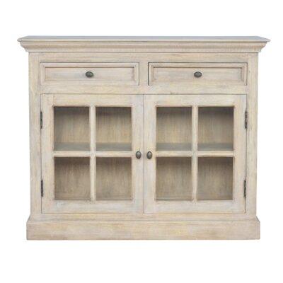 Alfreton Solid Wood 2 Door Accent Cabinet