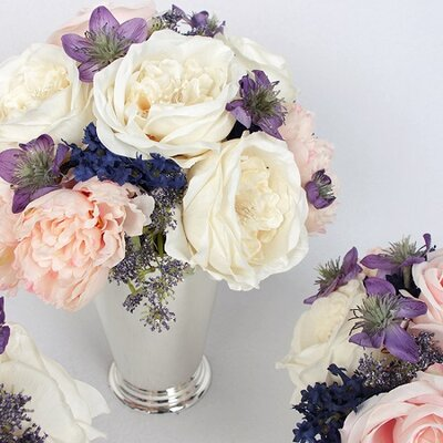 Rose and Peony Floral Arrangement