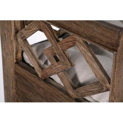 Modena Wood Storage Bench