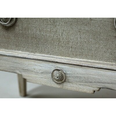Holly Aged Wood 3 Drawer Chest