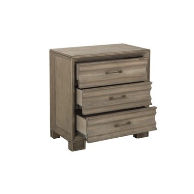Octavia 3 Drawer Accent Chest