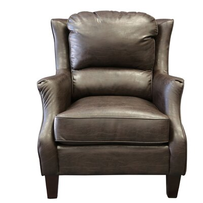 Garnet Armchair Upholstery: Espresso Brown