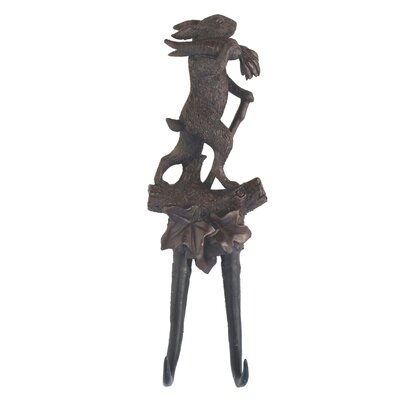 Forest Reproduction Rabbit Wall Hook