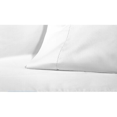 4 Piece 425 Thread Count Egyptian-Quality Cotton Sheet Set Size: King, Color: White