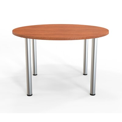 Panther Training Table Tabletop Finish: Amber Cherry, Size: 29'' H X 48'' W X 48'' D