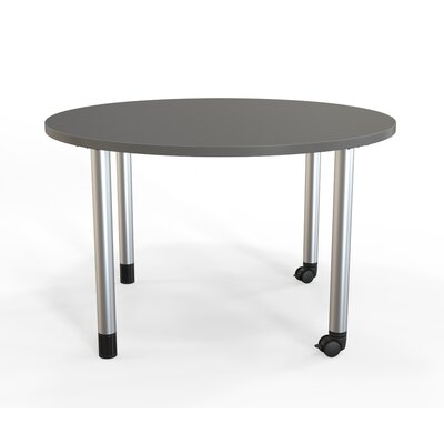 Panther Training Table with Wheels Tabletop Finish: Slate Gray, Size: 29'' H X 48'' W X 48'' D