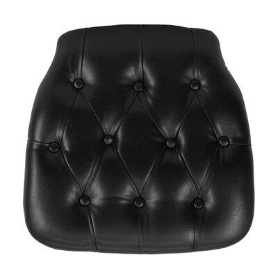 Chiavari Chair Cushion Color: Black