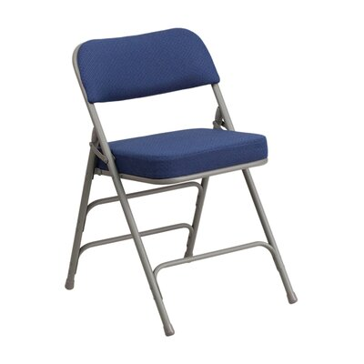Taylor Folding Chair Color: Navy