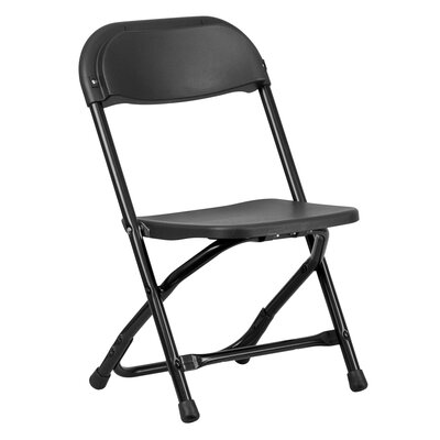 Classroom Folding Chair Finish: Black