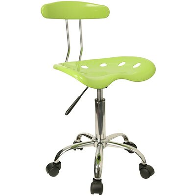 Low-Back Desk Chair Color: Apple Green