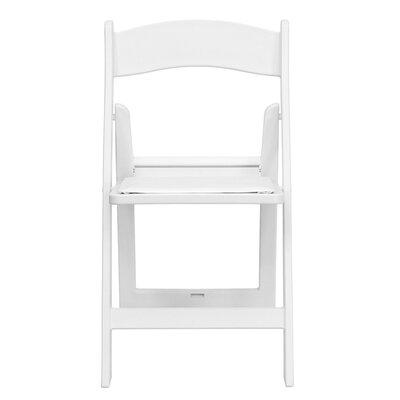 Dryden Folding Chair Finish: White