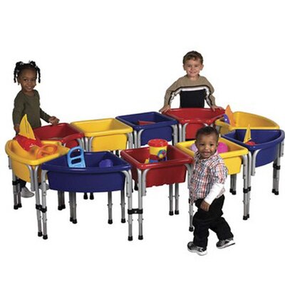 10 Station Sand & Water Table