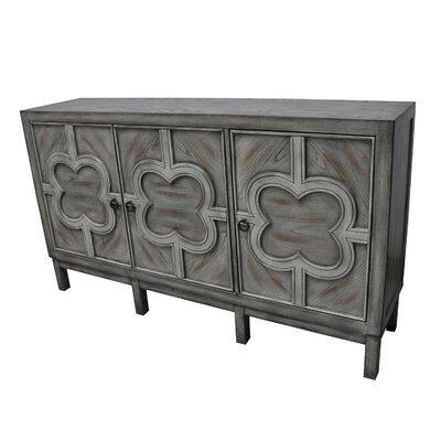 Woodsboro 3 Door Veneer Cabinet