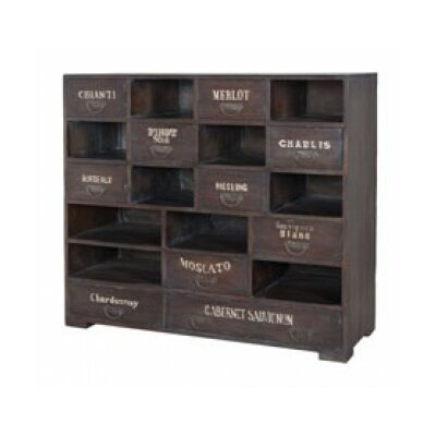 Joby Wine 10 Drawer Accent Chest